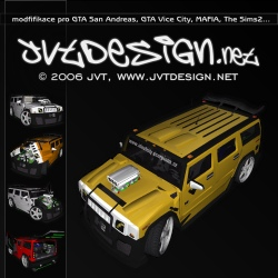 JvtDeSiGn.net - Jvt's site with my projects, 3D models & Design. My mods for GTA San Andreas, GTA Vice City, MAFIA and The Sims2
