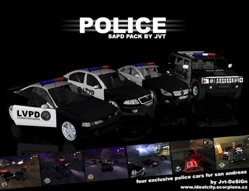 GTA San Andreas - Jvt s  Gta San Andreas Police Cars