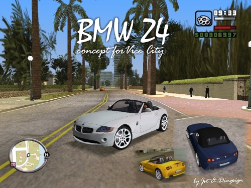 Title: BMW Z4 Author: JVT & Dingsign Time to make: ca.30 days? Number mods:
