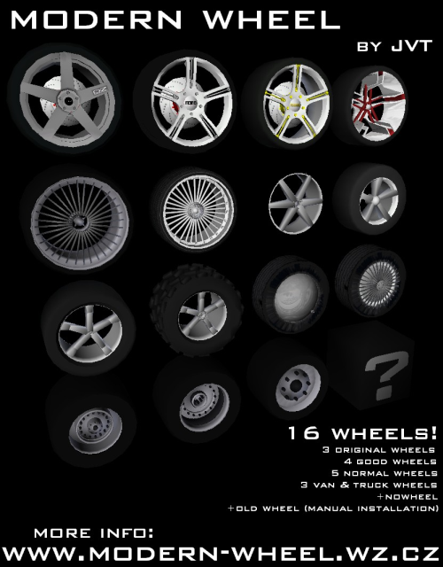 Light Truck Wheels GTA Vice City - Jvt's modifications - Scorpions Software